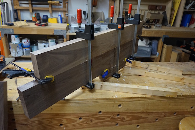 The top glue up partial