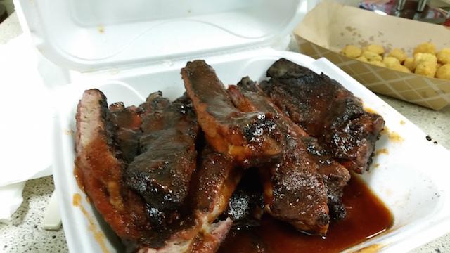 Mmmm, ribs...